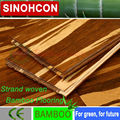 Top Quality High Density tiger strand woven bamboo flooring