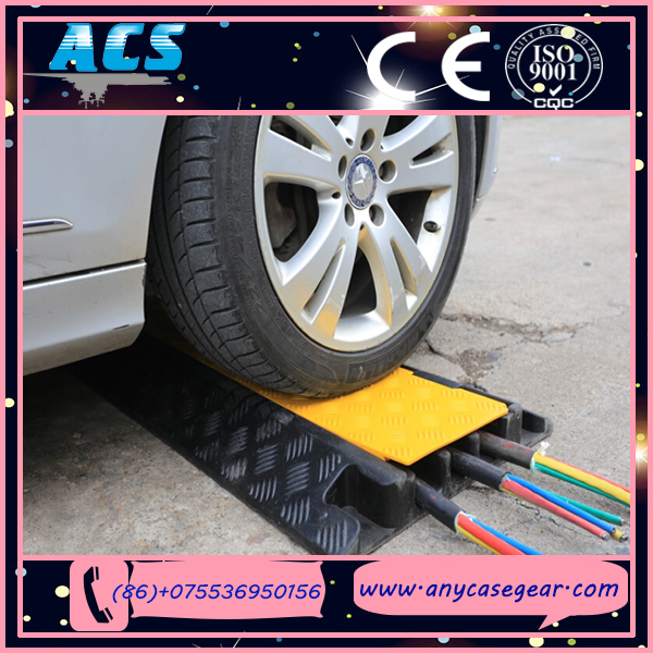 1--5 Channel outdoor event protector/ car ramps/ rubber cable protector