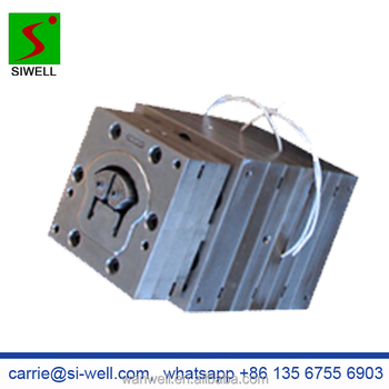 WPC garden fence railing handrail mould die tool