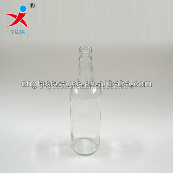 750ML GLASS BEER BOTTLE