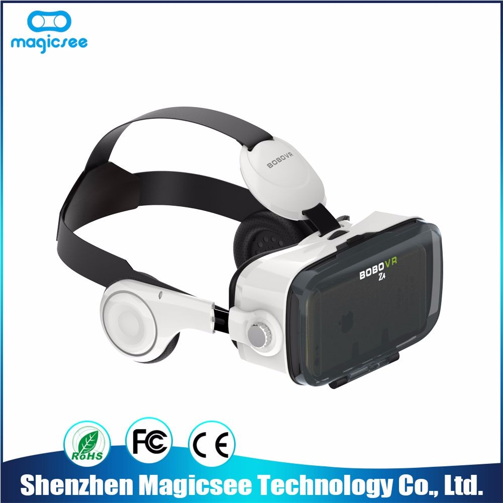 Professional production best selling 3d glasses headset cheap original bobo vr z4