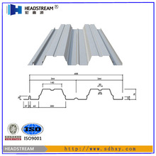 Galvanized welded floor grating steel grid plate fireproof steel decking sheets with high quality