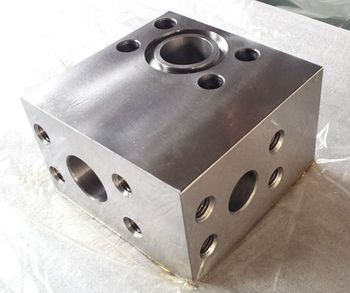 Machined Blocks for Excavator Hydraulic System