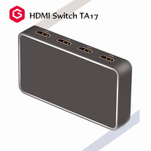 Multiple Sources 4K HDMI 2.0 Switch 3 In 1 Out Aluminum Material Manufacturer China