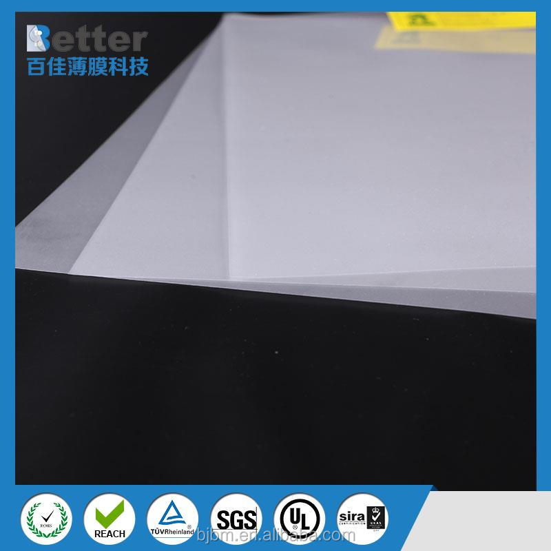 Clear and transparent PC film polycarbonate plastic film