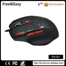 7D latest wired game mouse with fire button