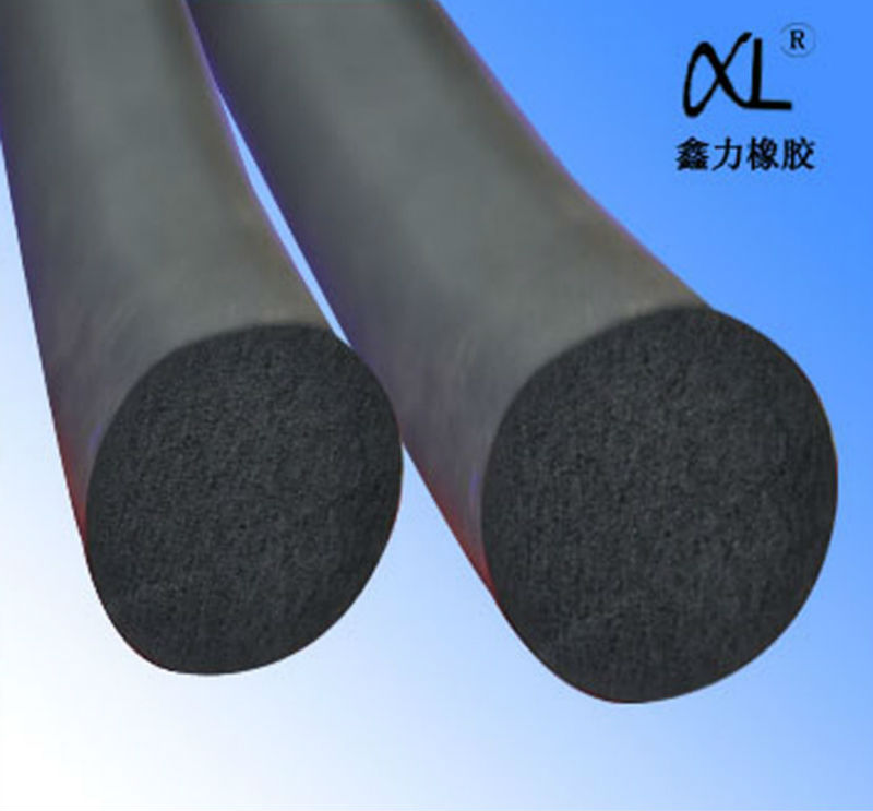 high density excellent insulating epdm foam round bar
