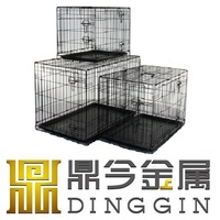 Bichon Frise Metal Pet Kennel