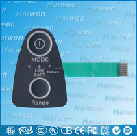 Haiwen new flat panel switch embossed buttons