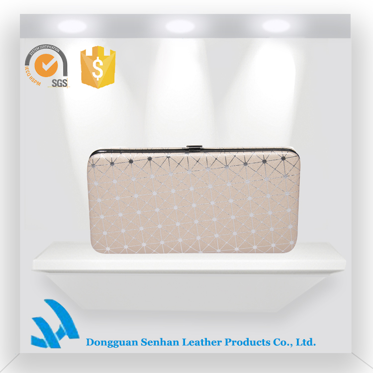 Wholesale Promotion Shining Pu Ladies Hand Clutch Purse