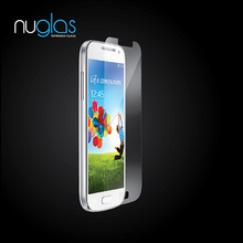 Asahi raw material Nuglas 0.33mm tempered glass screen protector for samsung galaxy s4 mini