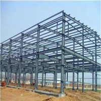 prefabrocated new steel structure building warehouse for wholesales from yili steel structure