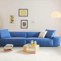 Down Leather Washable Fabric Sofa Loveseat