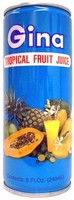 Gina Tropical Fruit Drinks 8 Floz