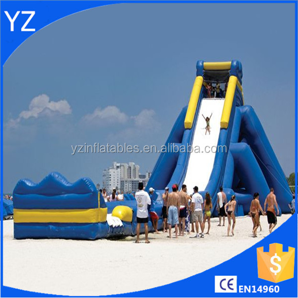 Inflatable Water Slide best selling giant hippo inflatable water slide for kids and