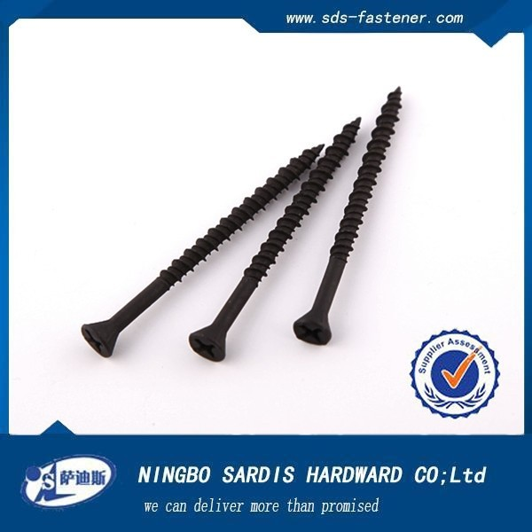 China supplier&manufacturers double threaded Decking Screws drywall screw