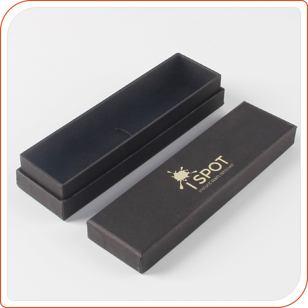 high quality black paper box design for giveaways