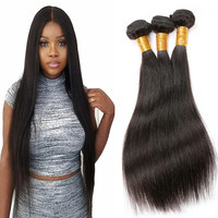 Free sample hair bundles wholesale price 10a grade virgin raw indian human hair real full cuticle aligned hair from india