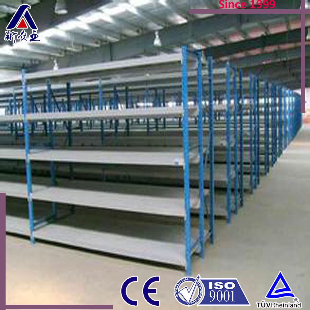 Quickly installation medium duty metal racks warehouse longspan racking