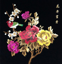 Custom products /Chinese traditional art decoration products - straw painting factory/