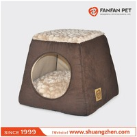 Hot Selling Cute pyramide igloo cat house bed