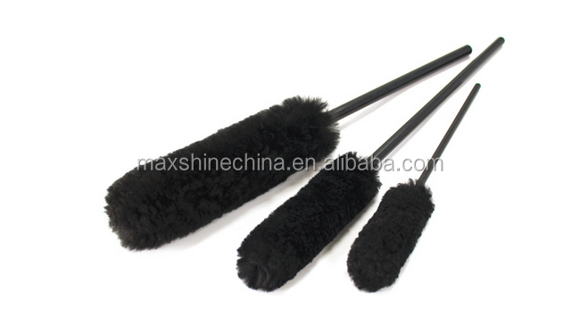 2016 new professional car wash wheel woolie brush with long use life
