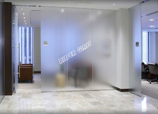 3-12mm Fingerprint Free Frosted Glass
