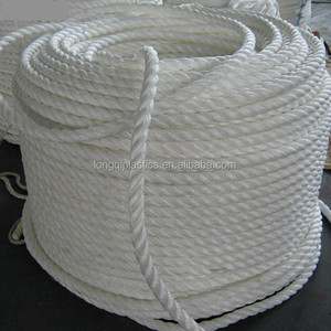 cheap 3MM PP Polyethylene Nylon ropes twine and Braided Rope