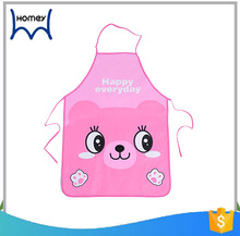 Promotional disposable cute children waterproof aprons