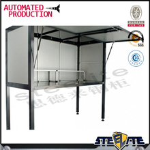 2016 OEM customized car garage bonnet steel storage cabinet at depot