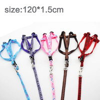 Dog chest back traction rope traction with a dog rope P chain dog dog chain dog dog dog pet dog 120*1.5cm