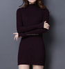 PK17ST449 slim pullover cashmere sweater dress women thumb style