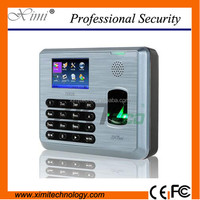 Cheap price color screen TX628 fingerprint time attendance linux fingerprint time and attendance