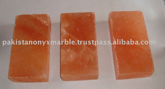 Pink Himalayan salt blocks, plates, platters, and bricks can be used for grilling, chilling, curing, baking, salting,