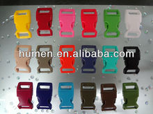 Guangdong plastic backpack strap sliding buckles