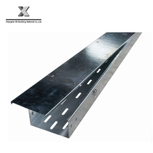 hot dip galvanized steel perforated ventilated cable tray cover