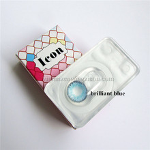 Popular style 3 tone 1 year cheap colored contact lenses magic eye contact lens