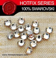 Fashion Dress Swarovski Elements Clear (001) 12ss Crystal Iron On Hot Fix Rhinestone