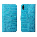 Two Mobile Phones Leather Case Crocodile Pattern PU Leather Case for Huawei P10 Lite