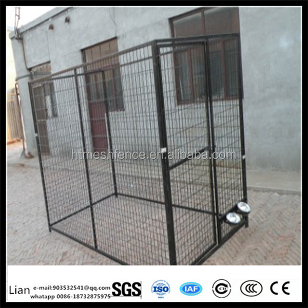 china supplier dog kennel dog yard playground used heavy run kennels galvanized steel dog pens welded mesh dog kennels
