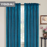 100% Polyester Plain Arabic Design In 2014 Hotel Room Curtains 2016