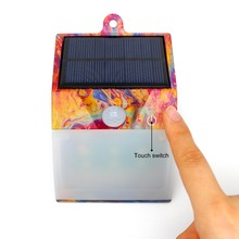 Integrated rechargeable solar power led emergency light for pathway