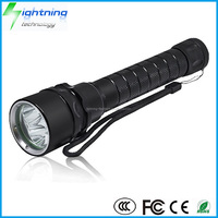 HOT Wholesale High Quality Waterproof IP68 Underwater 100m Magnetic Dimming 3 XML T6 / L2 CREE LED Diving Torch Flashlight