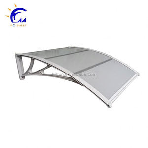 2017 New Wind Screen Vertical Side Awning-transparent plastic awning