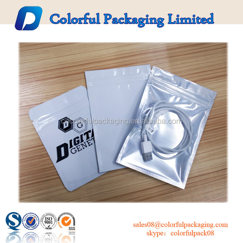 Hot printed packaging bag mobile accessories bag for android for iphone 4 5 6 mobile case packaging