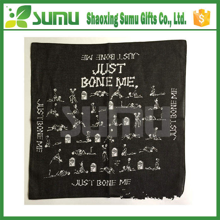 Top quality gift packing men wholesale custom printed handkerchief