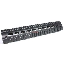 Vector Optics 12 Inch Long RIS Handguard Picatinny Quad Rail Mount Systems Full Metal Two Pieces Style for .223 5.56
