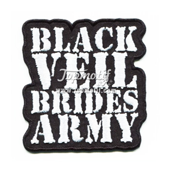 Iron On Embroidery Patches Brides Army Get Custom Patches Made