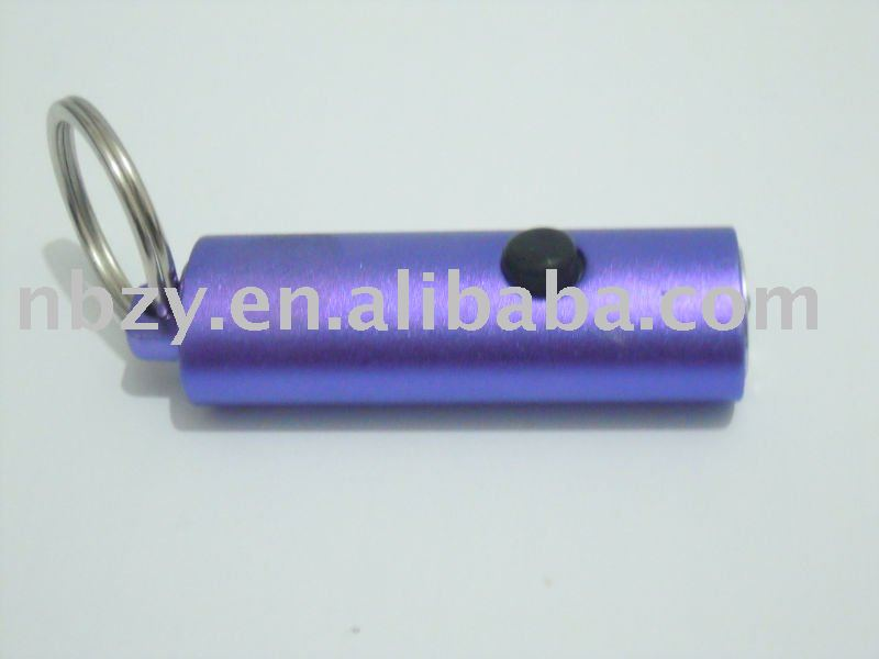 3 LED aluminum key ring,LED flashlight,keychain flashlight