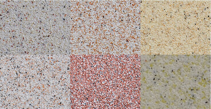 Weather Resistant Interior Granite Building Coating